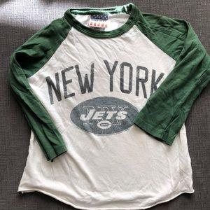 Junk food Boys New York Jets Raglan tee